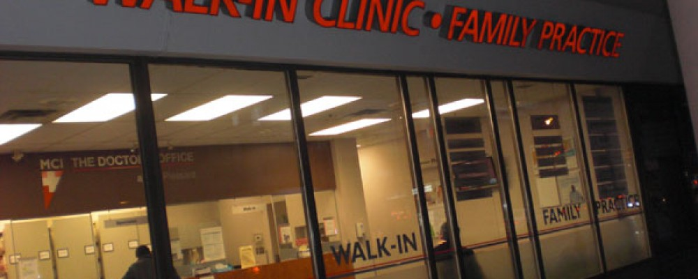 How to find a Walk in Clinic Near Me?